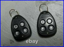 NEW keyless remote entry & control car starter with 2 fob Code Alarm CA5050