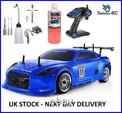 NITRO RC Car 110 Scale Two Gears Remote Controlled Car + Starter Kit and Fuel