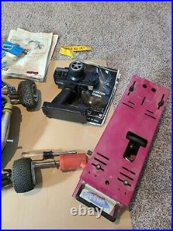 OFNA 1/10 Scale remote control car off road gas motor- starter box -untested
