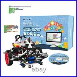 OSOYOO Graphical Programming Robot Car Starter Kit for Arduino Uno Remote