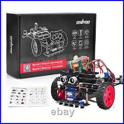 OSOYOO Model 3 Robot Car DIY Starter Kit for Arduino Remote Control App for to