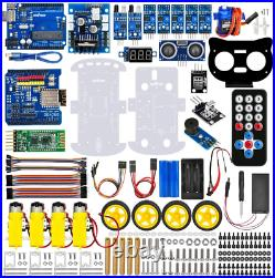 OSOYOO Robot Car Starter Kit for Arduino STEM Remote Controlled Educational to