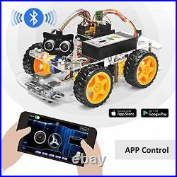 OSOYOO Robot Car Starter Kit for Arduino UNO R3 STEM Remote Controlled