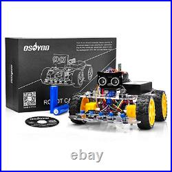 OSOYOO Robot Car Starter Kit for R3 STEM Remote Controlled Educational for How