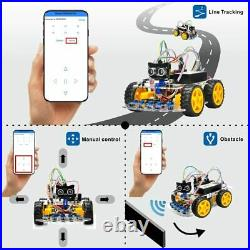 OSOYOO Robot Car Starter Kit for R3 STEM Remote Controlled Educational for to