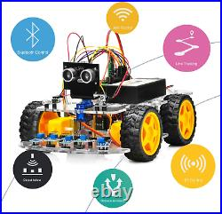 Osoyoo Robot Car Starter Kit For Arduino Stem Remote Controlled App Educationa