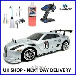 Petrol RC Car With Two Gears- Remote Control Car With STARTER KIT & NITRO FUEL