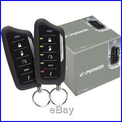 Python 5206 2-Way Responder LE Car Security System with Remote Car Starter 5206P