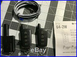 Remote Car Starter RF kit with 2 two-way remotes for EVO-ONE /EVO-ALL FTX 64-2W