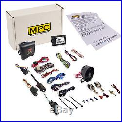 Remote Starter Kit with Car Alarm for Select Toyota Vehicles 2003-2012