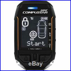 Remote Starters Compustar 2WT11-SS Way Replacement DSS 3 Mile Range Car