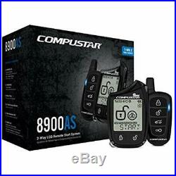 Remote Starters Compustar CS8900-AS-BL 2 Way LCD 1 Mile Range Car Security