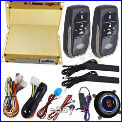 Remote car starters smart car alarm system with auto central lock or unlock car