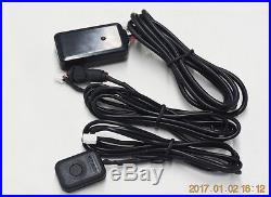 Remote starter 2 way security car alarm system with ignition button start stop