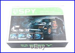 SPY rechargeable 2 way car alarm system remote engine start starter LCD display