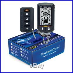 Silencer 75SL 2-Way Paging All-In-One Car Alarm +Remote Starter +Keyless Entry