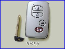 Smart Remote Car Key 4 Button for Toyota Avalon Carmy P/N271451-0140