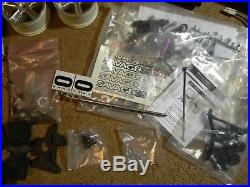 Traxxas Car and Parts Lot Wheels Body Magnum remote Charger Starter and MORE