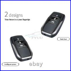 Universal Car Engine One-button Starter Remote Control Anti-theft Alarm System