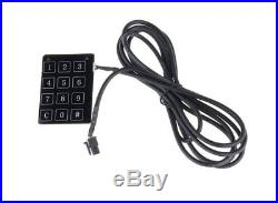 Universal PKE Car Alarm System with Bypass module Remote Engine Starter DC12V