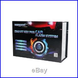 Universal Passive Keyless Entry Car Alam System Remote Engine Starter Button