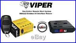 Viper 1 Way 1 Button Remote Car Starter 4115V with Bypass Module and a Free SOTS