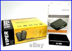 Viper 4105V Remote Car Starter 1-Way TWO 4-Button Remotes Keyless NEW 2017 Model