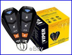 Viper 5105V Car Alarm & Remote Starter with TWO 4-Button Remotes 5105V NEW