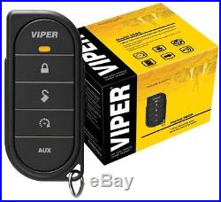 Viper 5606V 1 way Security System With Remote Car Starter Push To Start Alarm